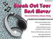 22 Report Disco Party Invitation Template For Free for Disco Party Invitation Template