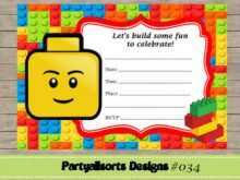 22 Report Lego Party Invitation Template Free in Photoshop by Lego Party Invitation Template Free