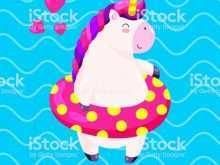 22 Report Unicorn Pool Party Invitation Template in Photoshop for Unicorn Pool Party Invitation Template
