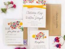 Wedding Invitation Format Sample