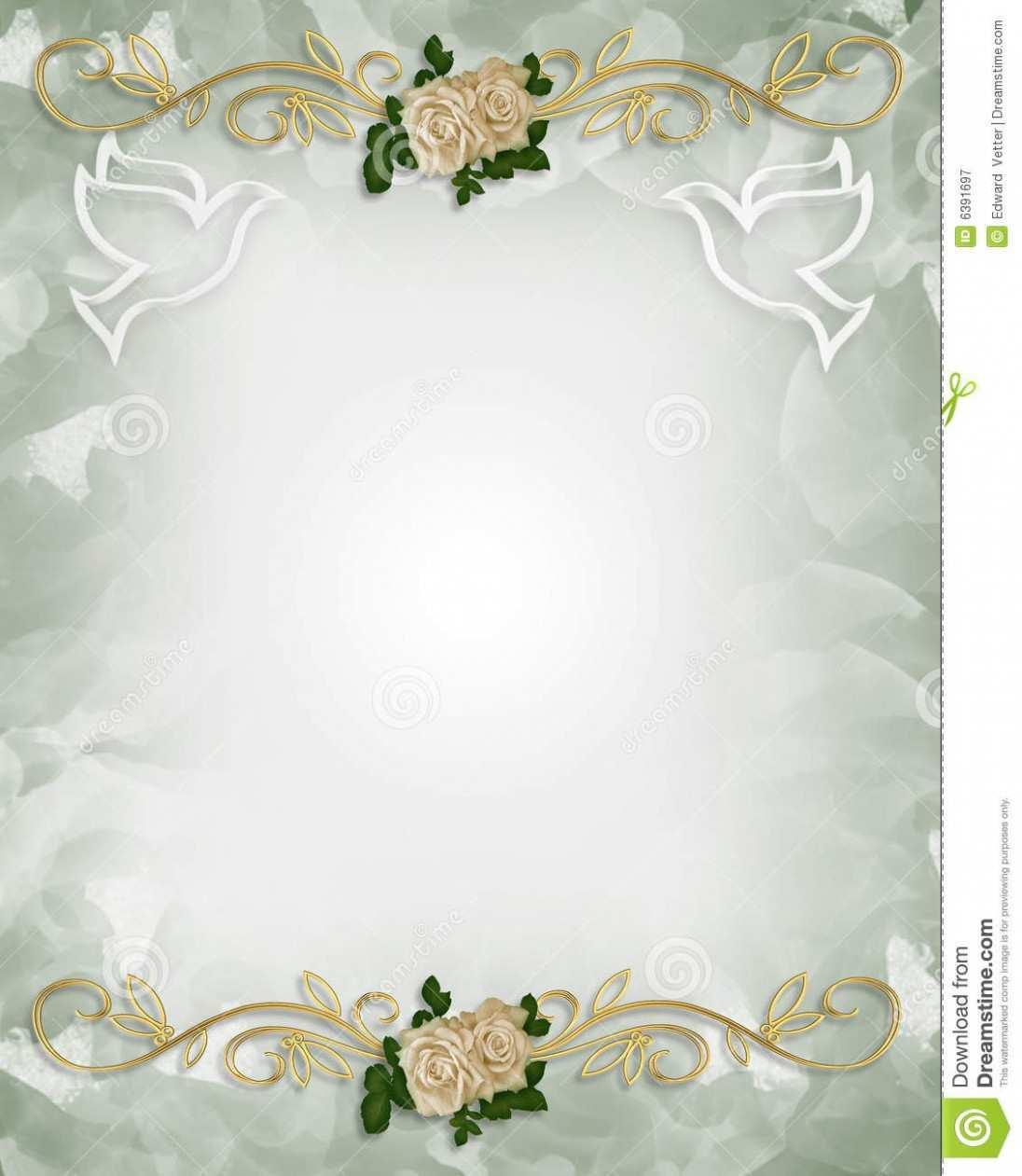 22 Standard Blank Wedding Invitation Card Template Templates with Blank Wedding Invitation Card Template
