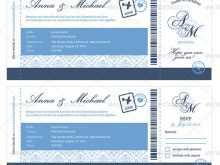 22 Standard Wedding Invitation Ticket Template Vector Free Download for Ms Word by Wedding Invitation Ticket Template Vector Free Download