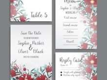 Nature Wedding Invitation Template