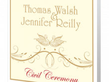 23 Creative Example Of Civil Wedding Invitation Card Layouts by Example Of Civil Wedding Invitation Card