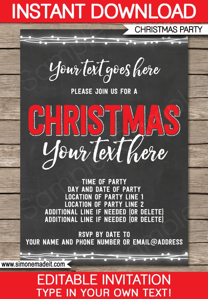 23 Customize Christmas Party Invitation Template Editable PSD File for Christmas Party Invitation Template Editable