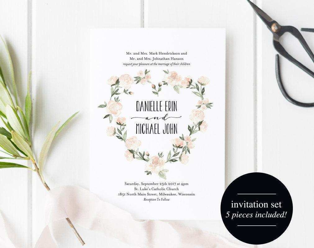 23 Customize Our Free Boho Wedding Invitation Template Now by Boho Wedding Invitation Template