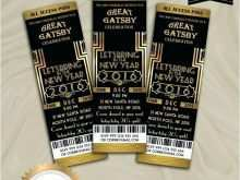 23 The Best Great Gatsby Party Invitation Template Free Maker with Great Gatsby Party Invitation Template Free