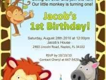 23 Visiting Safari Birthday Invitation Template Free Maker by Safari Birthday Invitation Template Free