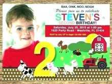 24 Best Farm Animal Birthday Invitation Template Layouts with Farm Animal Birthday Invitation Template