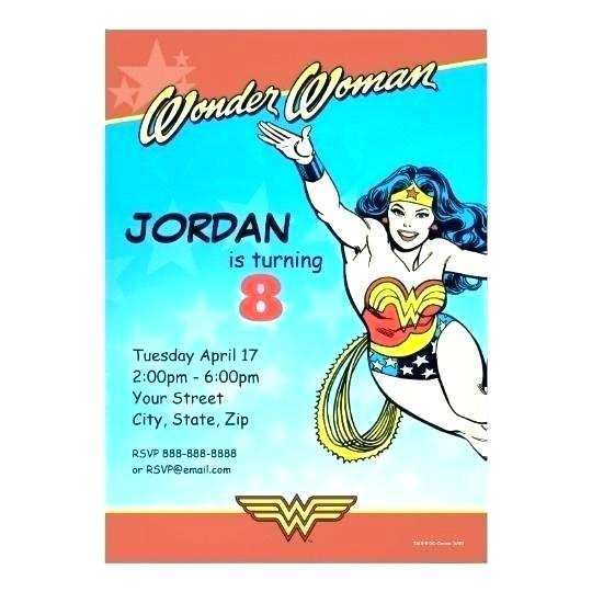 24 Best Justice League Birthday Invitation Template Maker for Justice League Birthday Invitation Template