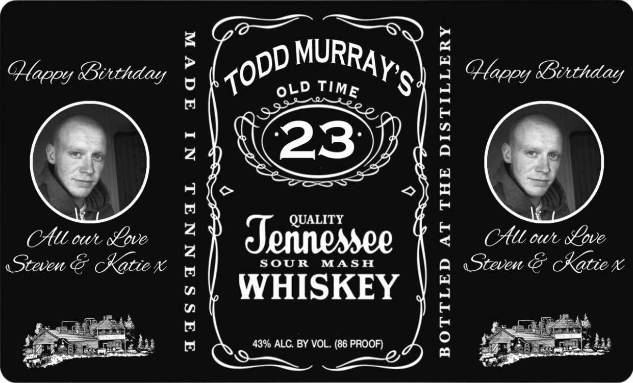 21 Blank Jack Daniels Birthday Invitation Template Free for Ms Intended For Blank Jack Daniels Label Template