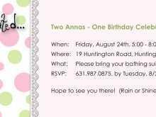 24 Creative Birthday Invitation Templates For 2 Years Old Girl in Word with Birthday Invitation Templates For 2 Years Old Girl