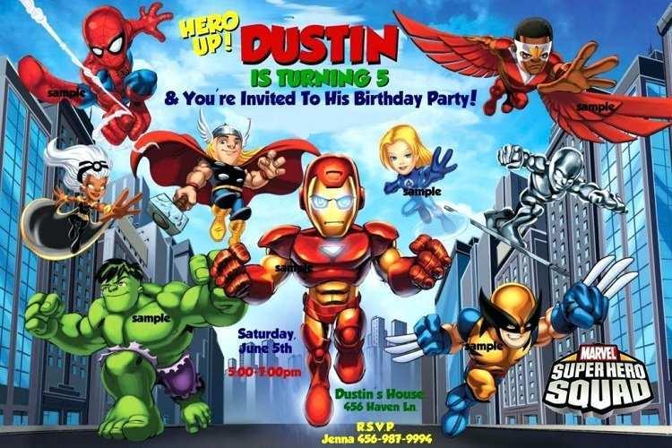 24 Free Printable Avengers Party Invitation Template Photo with Avengers Party Invitation Template