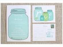 24 Printable Jar Wedding Invitation Template in Photoshop by Jar Wedding Invitation Template