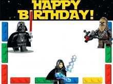 24 Standard Birthday Invitation Template Star Wars For Free by Birthday Invitation Template Star Wars