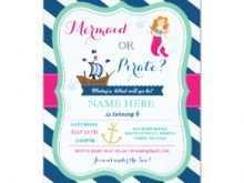 24 The Best Blank Mermaid Invitation Template Templates for Blank Mermaid Invitation Template