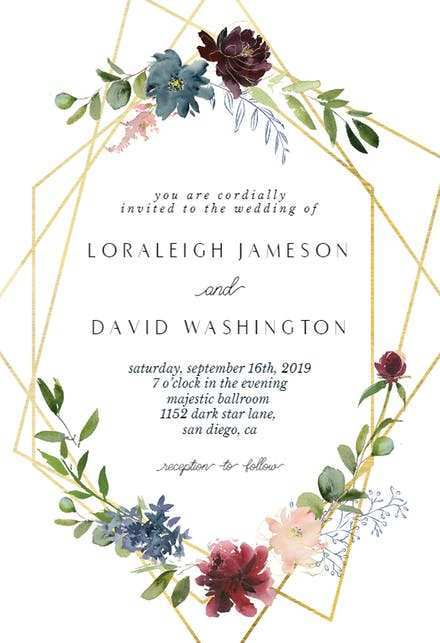 24 The Best Invitation Card Format For Marriage Photo for Invitation Card Format For Marriage