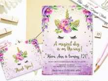 24 The Best Party Invitation Template Unicorn Download for Party Invitation Template Unicorn