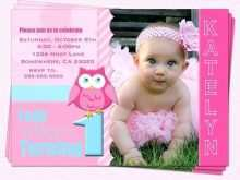 25 Adding Birthday Invitation Template For Baby Girl Formating for Birthday Invitation Template For Baby Girl