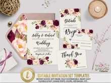 25 Creating Wedding Invitation Template To Download Templates for Wedding Invitation Template To Download