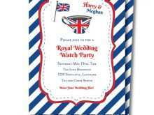 25 Customize Our Free Royal Wedding Party Invitation Template Download by Royal Wedding Party Invitation Template