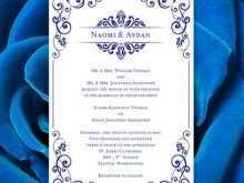 25 Format Royal Blue Wedding Invitation Template PSD File by Royal Blue Wedding Invitation Template