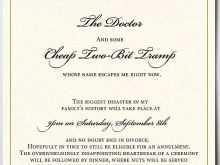 25 Free Printable Jewish Wedding Invitation Template Maker by Jewish Wedding Invitation Template