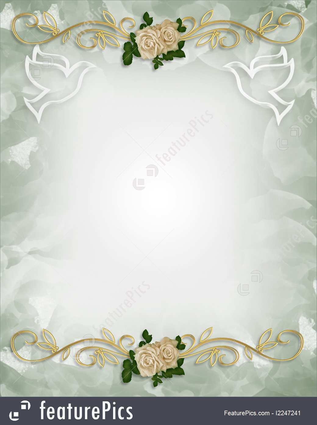 25 Free Printable Wedding Invitation Template Background Download for Wedding Invitation Template Background