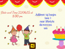 25 How To Create Birthday Invitation Template Maker For Free by Birthday Invitation Template Maker