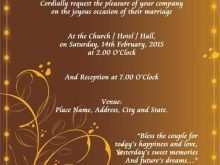 25 How To Create Blank Invitation Card Samples in Word for Blank Invitation Card Samples