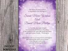26 Adding Wedding Invitation Templates Violet in Photoshop with Wedding Invitation Templates Violet