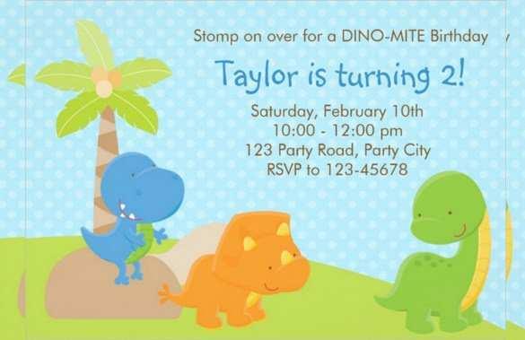 26 Blank Blank Dinosaur Invitation Template in Photoshop with Blank Dinosaur Invitation Template