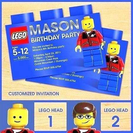 26 Blank Lego Birthday Party Invitation Template Layouts with Lego Birthday Party Invitation Template