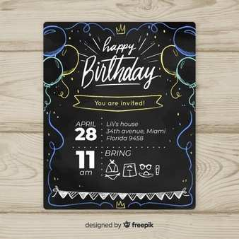 26 Creating Adobe Birthday Invitation Template in Word by Adobe Birthday Invitation Template