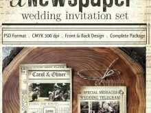 26 Creative Wedding Invitation Newspaper Template Download by Wedding Invitation Newspaper Template