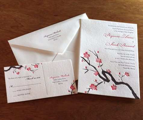 26 Free Japanese Wedding Invitation Template Now for Japanese Wedding Invitation Template
