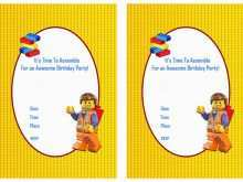 26 Free Lego Party Invitation Template Free Formating by Lego Party Invitation Template Free