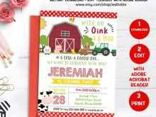26 How To Create Birthday Invitation Template Animals Now with Birthday Invitation Template Animals