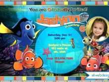 26 How To Create Nemo Birthday Invitation Template for Ms Word by Nemo Birthday Invitation Template