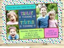 26 Visiting Joint Birthday Party Invitation Template With Stunning Design for Joint Birthday Party Invitation Template