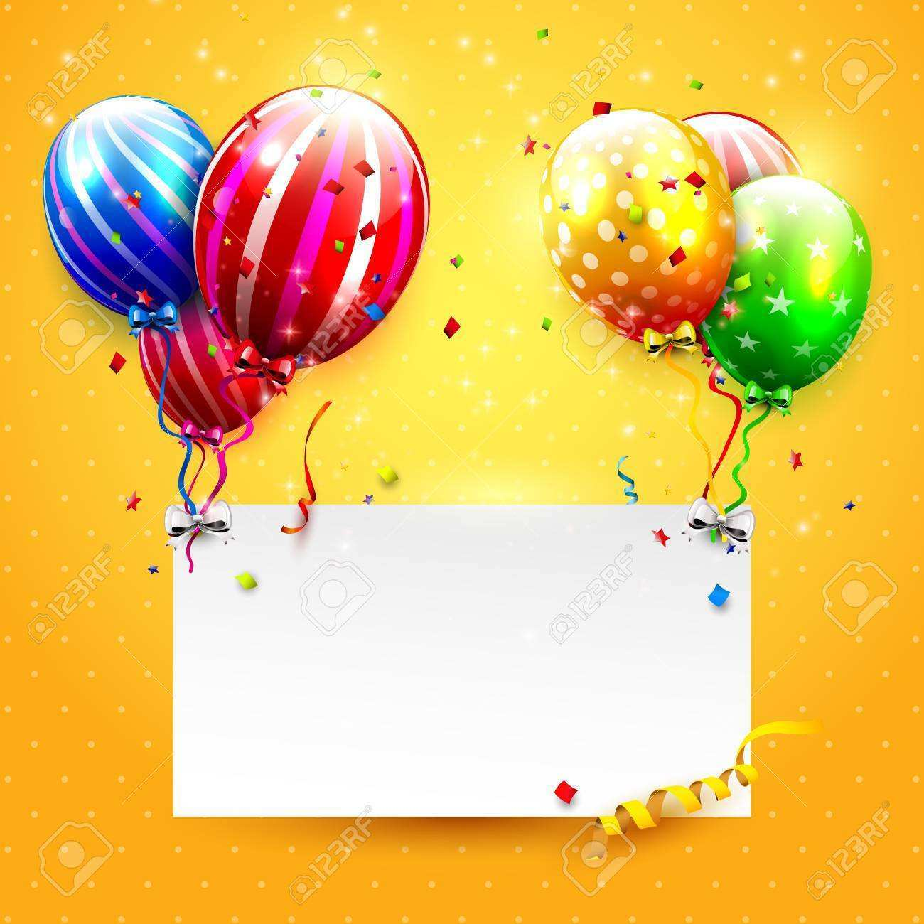 27 Creating Birthday Invitation Template Balloons Now by Birthday Invitation Template Balloons