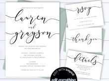 27 Creative Black And White Wedding Invitation Template Maker with Black And White Wedding Invitation Template