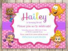 27 Customize Our Free Bubble Guppies Blank Invitation Template for Ms Word for Bubble Guppies Blank Invitation Template