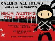 27 Customize Our Free Ninjago Party Invitation Template in Photoshop with Ninjago Party Invitation Template
