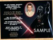 27 Customize Star Wars Birthday Invitation Template for Ms Word with Star Wars Birthday Invitation Template