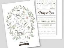 27 Free Printable Adobe Illustrator Wedding Invitation Template in Word with Adobe Illustrator Wedding Invitation Template