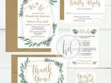 27 Free Wedding Invitation Template Kit For Free with Wedding Invitation Template Kit