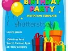 27 How To Create Birthday Invitation Template Balloons in Word with Birthday Invitation Template Balloons
