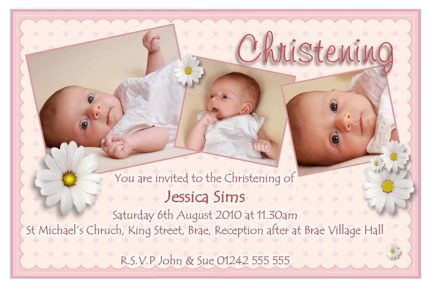 27 How To Create Christening Invitation For Baby Girl Blank Template Maker by Christening Invitation For Baby Girl Blank Template