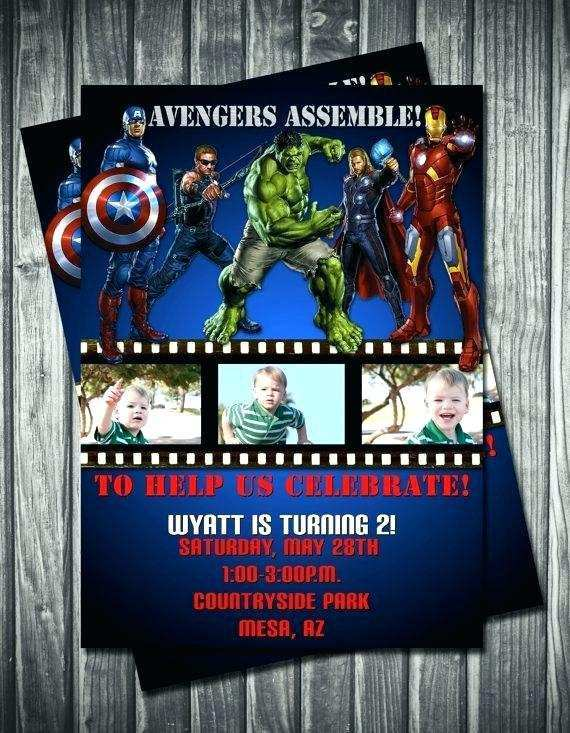 27 Online Avengers Party Invitation Template Now by Avengers Party Invitation Template